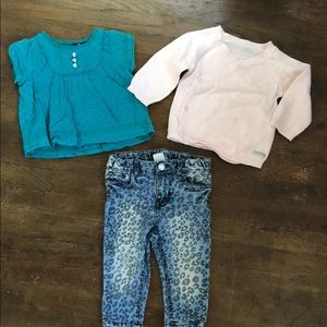 Bundle of 6 month girls clothes